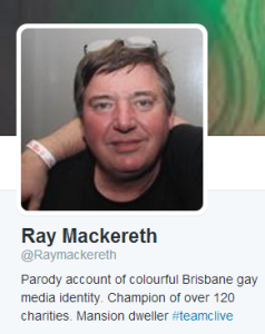 Ray Mackereth appears to have lost the plot